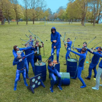 Archery Tag Groepsuitje