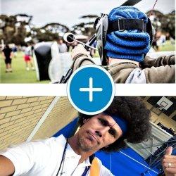 Oldskool Gymles en Archery Tag